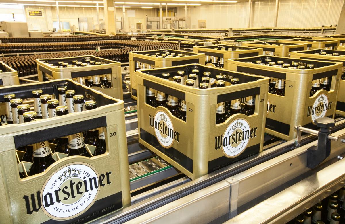Aus Gelb Wird Gold Warsteiner Premium Bier